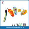 Movimentação impermeável do flash do USB do deslizador de PVC/Rubber