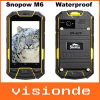 IP67 originaux Mkt6577 conjuguent roche androïde imperméable à l'eau antichoc de Runbo de boussole du portable GPS 3G de preuve extérieure de la poussière de Snopow M6 de noyau