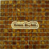 Carrello d'acqua dolce del olf del mosaico di GChinese Shell (CN0807) (KG008)