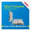 Vídeo de 4 canaletas + transceptor da fibra óptica dos dados + do Ethernet