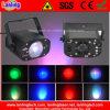3W RGB Mini Indoor LED Flash Light mit Strobe