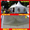Gazebo tente de crête élevée en Roumanie Bucarest pour la vente