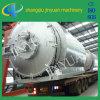 Tyre residuo Pyrolysis Plant con CE