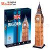 OnderwijsStuk speelgoed van het Raadsel van de Big Ben 3D