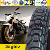 Neumático de la motocicleta de la alta calidad (2.25-17) con alta tarifa del caucho natural