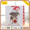 Welpen-Entwurfs-Weihnachtsbaby-Hundepapierbeutel,