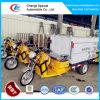 Lavage des camions, mini Tricycle électrique Tricycle de nettoyage de la route pour la vente