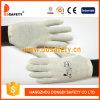Ddsafety 2017 100% algodón de lejía guante de trabajo