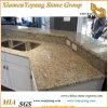 Controsoffitto/controsoffitti/parti superiori ornamentali/Vanitytop della cucina del granito di Giallo