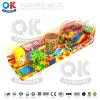 Низкая цена детский пластиковый прямоугольник игровая площадка для установки внутри помещений