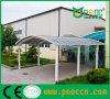 Het Dak Carport van het Polycarbonaat van de Structuur van Aluminuim/Auto/Auto Sunshield die afbaarden