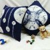 Paliers de maneton de toile de sofa de coton compétitif mou avec des travaux manuels de chinois traditionnel