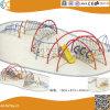 Structure en acier de plein air de l'escalade avec toboggan pour les enfants HX1503W