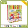 Bolso de compras del papel revestido de la vela del cumpleaños