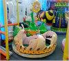 遊園地のための小型ワームBの電車の子供の乗車