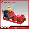 Bomba de incêndio do motor Diesel para o sistema de sistema de extinção de incêndios de incêndio