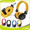 Se divierte el auricular sin hilos estéreo cómodo corriente del receptor de cabeza de Bluetooth