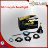 A4 25 Вт Светодиодные фары с мотоцикла 6000K, DOT сертификации