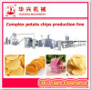 La alta calidad pone las patatas fritas que hacen precio de la máquina