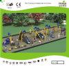 Полоса препятствий детей Kaiqi среднего размера и спортивная площадка приключения установили (KQ50113A)