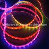 Цвет прокладки Ws2801 цифров водоустойчивый мечт изменяя светильник 5V нашивки света веревочки прокладки RGB гибкий СИД