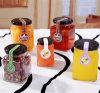 金属の木のふたが付いている気密の食糧瓶及びびんの蜂蜜の込み合いのガラス瓶