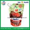 フルーツジュースまたは飲料または洗濯洗剤の包装袋のためのスタンドアップ式の口の袋