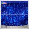 720 luzes de Natal das luzes da cortina do diodo emissor de luz azuis com cabo desobstruído