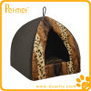 Cat Bed de Fur Pyramid do falso com Removable Cushion (PT49260)