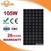 Panneau solaire direct de la vente 105W d'usine pour le système d'alimentation solaire