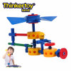 La tierra de Thinkertoy bloquea el modelo elegante 2 (F6501) del helicóptero de la mosca del juguete de la serie educativa de los planos