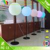 Globo caliente del soporte de la iluminación de la venta, bola de la iluminación del LED con el soporte