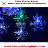 고무 철사 방수 옥외 사용 LED 크리스마스 불빛