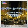 Через уличный свет для напольного светлого уличного света рождества украшения