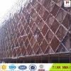 Decoración de uso ampliado de la cerca de la pantalla Seguridad metal para las construcciones