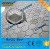 Moulages de plastique de qualité pour les machines à paver concrètes hexagonales
