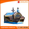 子供党(T3502)のための海賊月の家の膨脹可能な跳躍の警備員