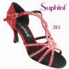 ハイヒールの女性のSuphiniのサルサのラテン系のダンスの靴