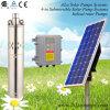 4inch螺旋形の回転子の太陽エネルギー浸水許容ポンプ、潅漑の太陽ポンプ、深い井戸の太陽ポンプ