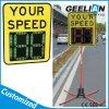 Símbolo del nuevo diseño del límite de velocidad de aluminio Vía seguridad LED