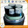 Type de câble plaqué de métal de conducteur d'UL1569 Thwn-2 câble de gaine de PVC de Mc