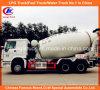 Sinotruk 371HP 14cbm HOWOの頑丈なセメントの具体的なミキサーのトラック