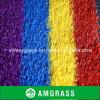 Erba di moquette corrente colorata del tappeto erboso del monofilamento