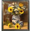 Ancora pittura moderna Handmade all'ingrosso del fiore di vita sulla decorazione di arte della casa della tela di canapa