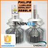 Jogo 3500lm 35W a Philips do farol do diodo emissor de luz de Unionlux