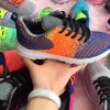 Сплетенный студент Flyknit резвится ботинок женщин обуви тапки
