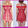 2014 vestidos quentes sexy luxuosos do laço da venda do Arriver novo/vestido de noite
