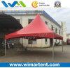 6X6m im Freien rote Festzelt-Kabinendächer für Ghana