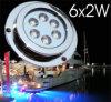 Lumière sous-marine du bateau LED (6x2W)
