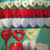 Wedding Decoration Love Heart Paper Garland